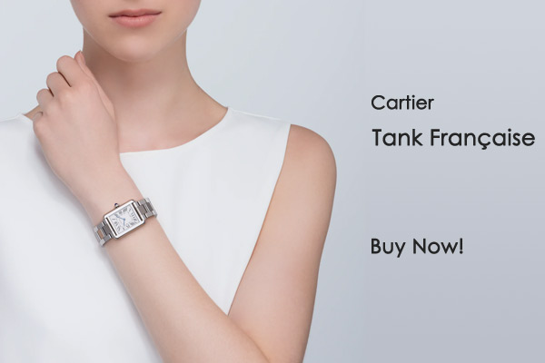 Cartier Ladies Small Tank Française