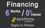Syncrony Financing 0%