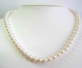 9 mm Pearl Necklace 18 inches Length 14K Yellow Gold Clasp