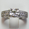 Diamond Engagement Ring 1.55 Ct. tw White Gold