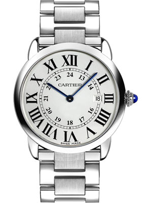 Cartier Ronde Solo Watch 36 mm Steel Roman Numerals