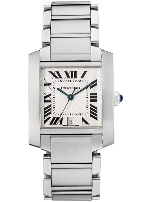 Cartier Tank Francaise W51002Q3 Self-Winding