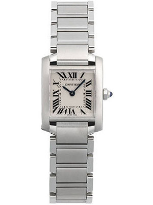 Cartier Ladies Small Tank Francaise