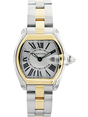 Cartier Roadster 18 karat Gold & Steel