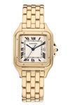 Cartier Solid 18K Gold Panthere Quartz W25014B9