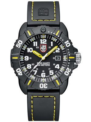 Luminox Coronado 44mm with Carbon Reinforced Case and Black Rubber Strap