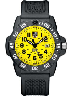 Luminox Scott Cassell UVP Special Edition - Yellow Dial
