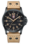 Luminox Atacama Field Quartz Watch with Leather Strap