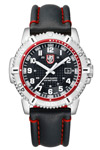 Luminox Navy Seal 6265 Pressure Proof Case Red Stitching
