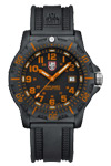 Luminox Men's Navy Seal Colormark Watch with Orange Numbers and Hands