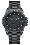 Luminox Black Out Blackened Steel Swim Proof
