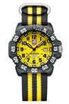 Luminox Scott Cassell Set with Yellow Dial Black Rubber Band and Compass