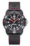 Luminox Coronado Quartz Red Stitching