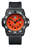 Luminox Scott Cassell UVP Special Edition - Orange Dial
