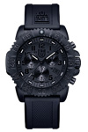 Luminox Colormark Chronograph with Black Rubber Band