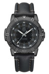 Luminox Navy Seal Modern Mariner Black Leather Band