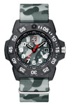 Luminox Navy SEAL 3507.PH Water Resistant 200 m Gray Camouflage Strap