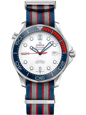 Omega Seamaster Diver Limited Edition James Bond 300M Co-Axial 41 mm