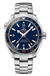 Omega Seamaster Planet Ocean GMT Blue Dial