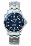 Omega Seamaster James Bond With Blue Dial and Blue Insert 36 mm