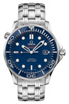 Omega Seamaster James Bond Automatic Co-Axial Movement Blue Ceramic Bezel