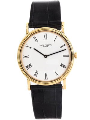 Patek Philippe Calatrava 3520D 18K Solid Yellow Gold Men's Watch