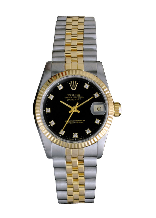 Rolex Watches For Women Black