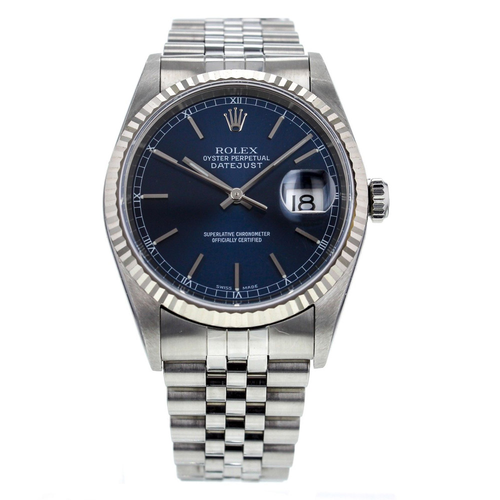 Rolex jubilee band datejust for Jubilee watch