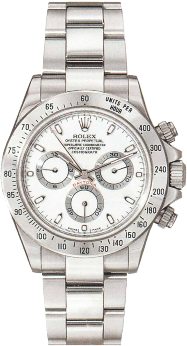 Home gt; PreOwned Rolex Watches gt; Rolex Daytona Cosmograph in Steel