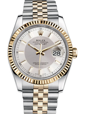 Rolex Datejust 116233 Silver Oyster Dial