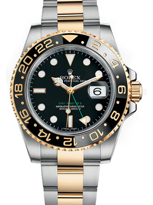 Rolex GMT Master II with Ceramic Bezel