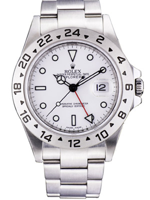 Rolex Watch Explorer II White Dial