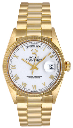 Rolex President Gold Watches