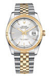 Pre-Owned Rolex Stainless Steel & Gold Datejust 116233