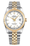 Pre-Owned Rolex Stainless Steel & Gold Datejust