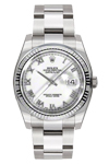 Rolex Datejust 116234 with White Roman Dial