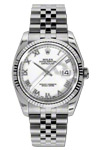Rolex Watch Steel Datejust 116234 White Dial Roman