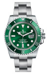 Rolex Watch Submariner Green Face (Dial and Bezel) 116610LV