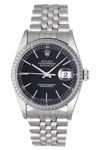 Datejust 16220: Black Dial