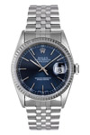 Rolex Watch Datejust 16234 Blue Dial Jubilee Band