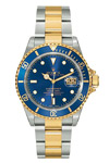 Rolex Submariner Two Tone Blue Dial 16613