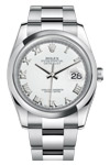 Rolex Datejust 116200 With White Roman Dial