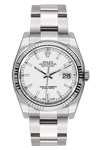 Rolex Datejust 116234 with Oyster Color Silver Sticks Dial