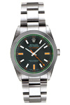 Pre-Owned Rolex Milgauss Green