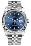 Rolex Oyster Perpetual Datejust 116234 with Blue Dial