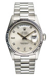 Rolex President 18239 Day Date White Gold