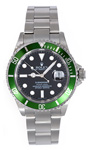 Rolex Submariner 50th Anniversary Green Insert Black Dial