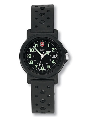 Swiss Army Watch Ladies Renegade Black Dial And Case