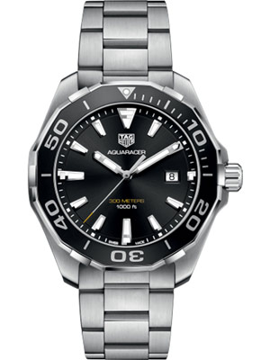 Tag Heuer Aquaracer 43 mm Men's Black Dial
