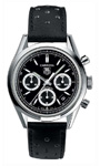 Tag Heuer Carrera Automatic Chronograph with Black Racing Strap